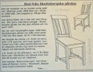 Chair from Skottbergska gården kit
