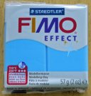 FIMO effect blue translucent