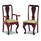 Queen Anne Chairs 2p, byggsats
