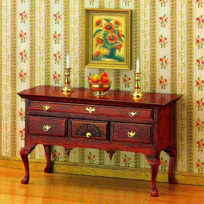 Chippendale sideboard, byggsats