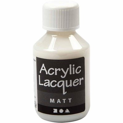 Akryllack 100ml, matt